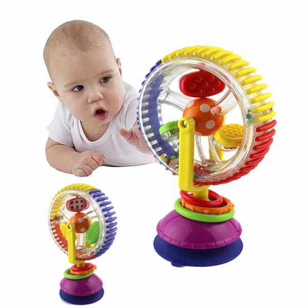 Tricolor Multi-touch Rotating Ferris Wheel Suckers Toy-Rama Deals