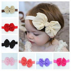 Baby Girls Bowknot Headband-Rama Deals