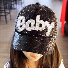 Baby Sequined Children Baseball Cap-Rama Deals