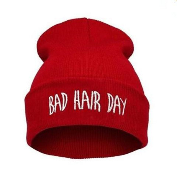 Clearance Bad Hair Day Knit Hat-Rama Deals