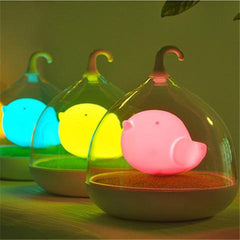 Birdcage Lamp with Touch Sensor