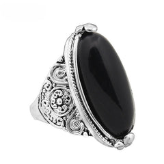 Alloy Antique Silver Plated Ring