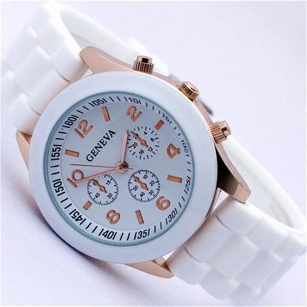 Clearance Candy-colored Quartz Silicone Watch-Rama Deals