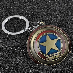 Captain America Metal Keychain-Rama Deals