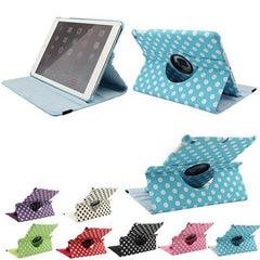 Polka Dots Leather Case for iPad Air - Rama Deals