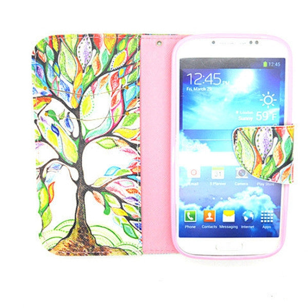 Tree Leather Case for Samsung Galaxy S4-Rama Deals