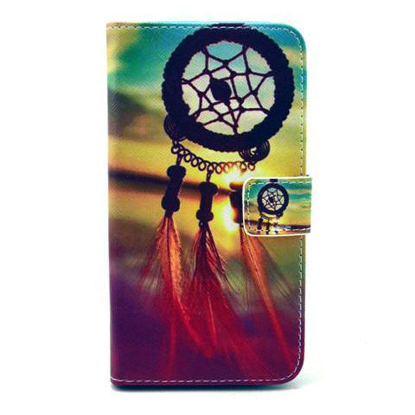 Dreamcatcher Stand imitation Leather Case For Samsung S6-Rama Deals