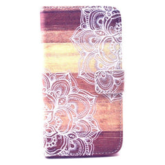 Lace Stand Leather Case  For  Samsung S6 - CELLRIZON  - 1