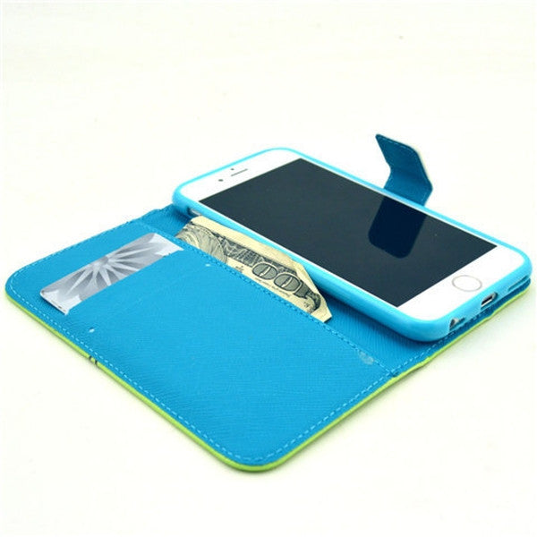 "Clearance Wallet Style Leather Case for iPhone 6 4.7""-Rama Deals"