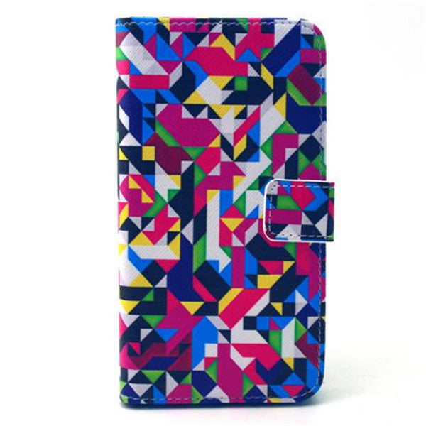Colour Diamond Stand synthetic Leather Case for Samsung S6 Edge-Rama Deals