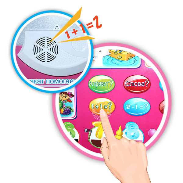 Russian Scene Audio Diagram Learning Machine Toy – Rama Deals