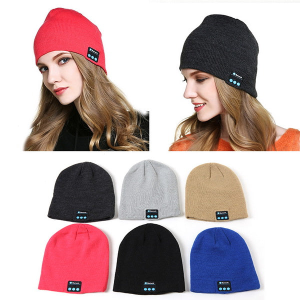 Clearance Beanie Hat with Bluetooth Speakers and Mic-Rama Deals