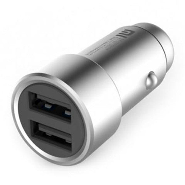 Clearance Fast Charging Car Charger Metal Style - SILVER-Rama Deals