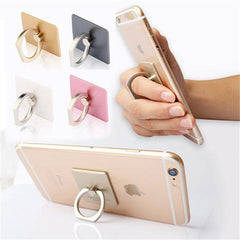 3D Metal Finger Grip Ring Universal Stand for Mobile Phone-Rama Deals