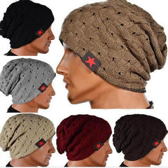 Five Star Striped Cap Hollow Double Wear Hat-Rama Deals