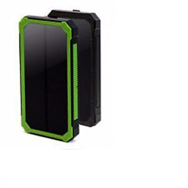 10,000mAh Rugged Solar Charger Smartphone Power Bank-Rama Deals