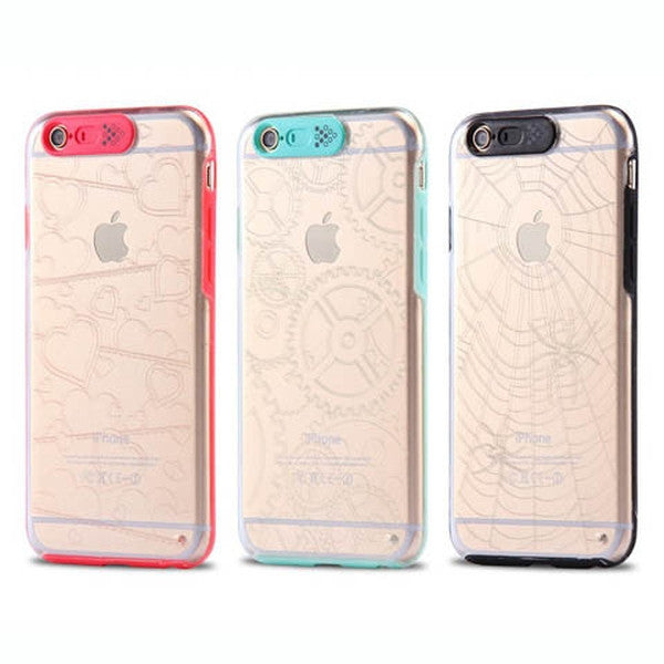 LED Flash Cute Clear Case For IPhone 7 plus 5.5'' - Rama Deals - 1