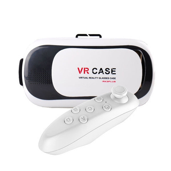 Clearance VR Case 3.0 Version For 4.5 - 6.0 inch Smartphone+Bluetooth Controller-Rama Deals