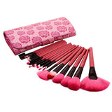 18 Pcs Rose Brush Set-Rama Deals