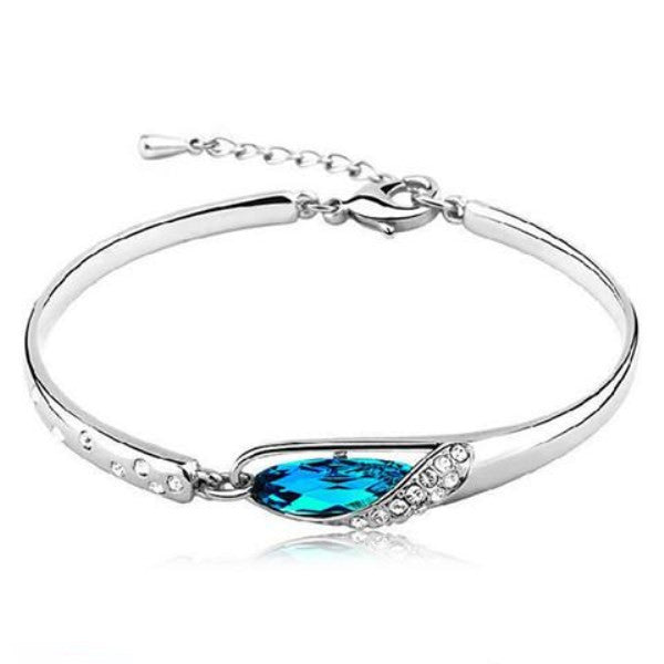 Clearance Hot Sale Women Crystal Bracelet Vintage 925 Silver Bracelet-Rama Deals