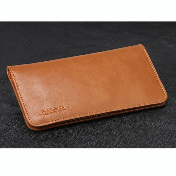 Clearance Pocket Wallet Real Leather Case For iphone 7-Rama Deals