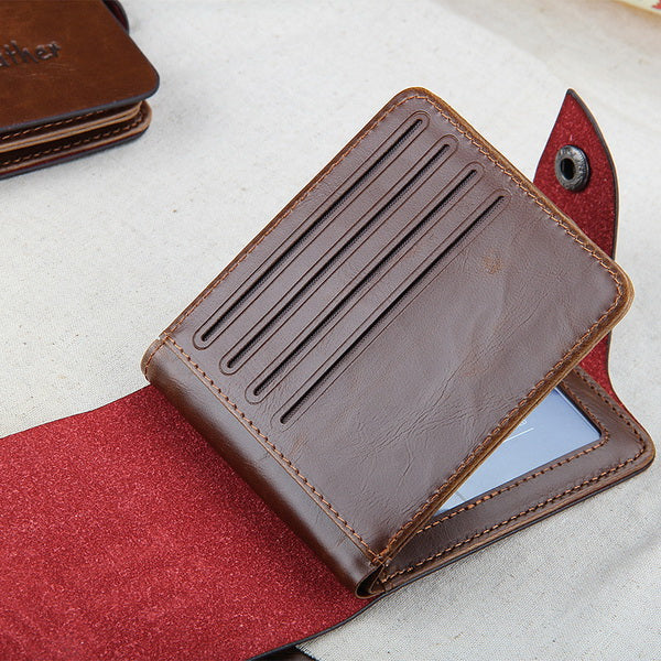Clearance 501 Leather folding Men Wallet-Rama Deals