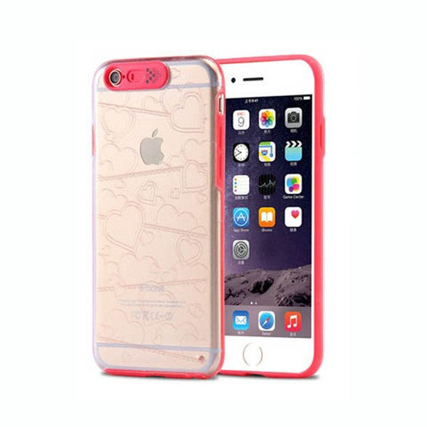 LED Flash Cute Clear Case For IPhone 7 plus 5.5'' - Rama Deals - 3