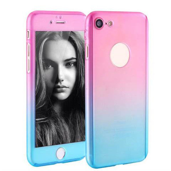 All Inclusive Gradient Mat Hard Shell Cases For Iphone7 4.7''-Rama Deals