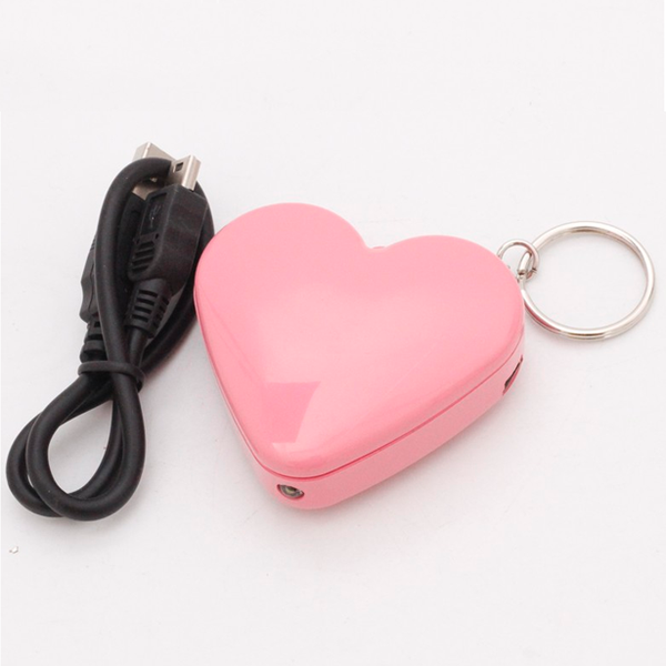 Clearance Pretty In Pink Rechargeable USB Lighter-Rama Deals