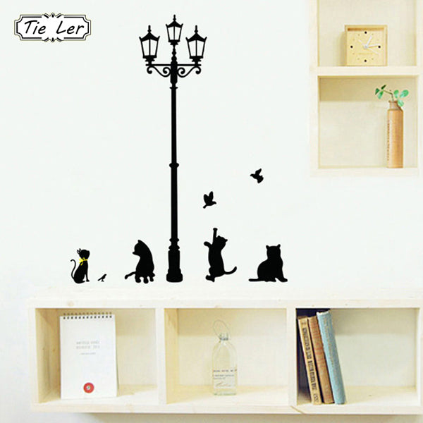 3 Little Cats DIY Wall Sticker-Rama Deals