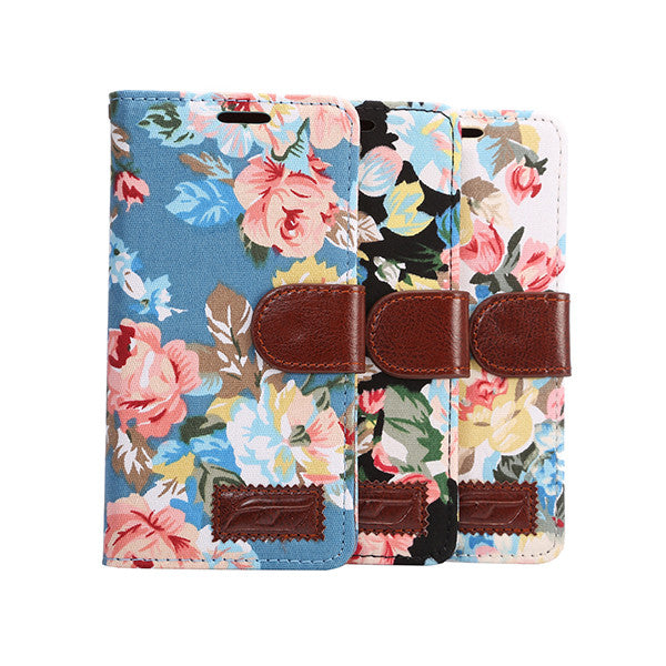 Flower Printed Mobile Phone Case For Samsung S8 and S8plus-Rama Deals