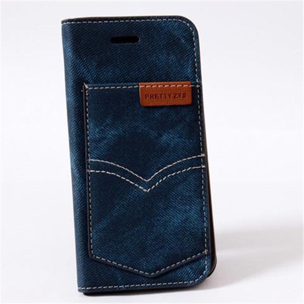 Denim Cloth Case For Iphone 5-Rama Deals