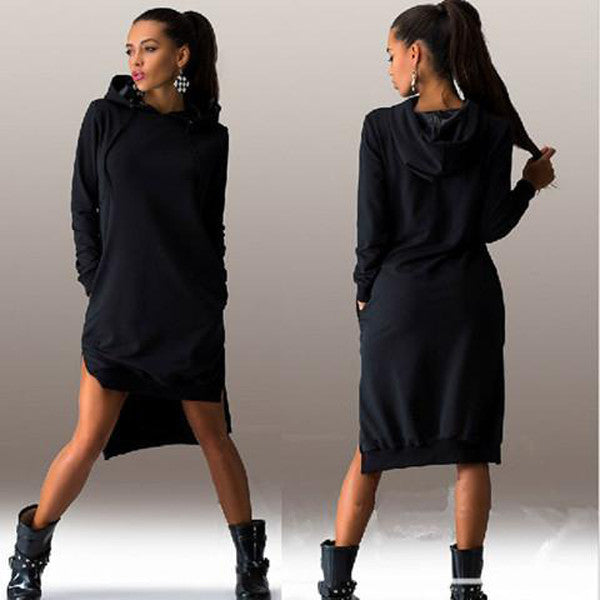 Hoody Sweater Dress-Rama Deals