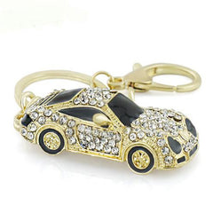 Crystal Racing Car Handbag Pendant Keychain-Rama Deals