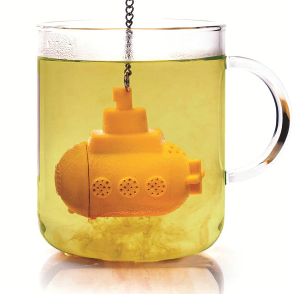 Creative Silicone Sea Submarine Shape Tea Filter-Rama Deals