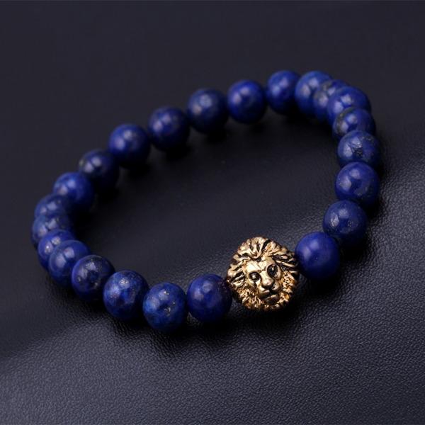 Lion Head Beads Bracelet - Rama Deals - 1