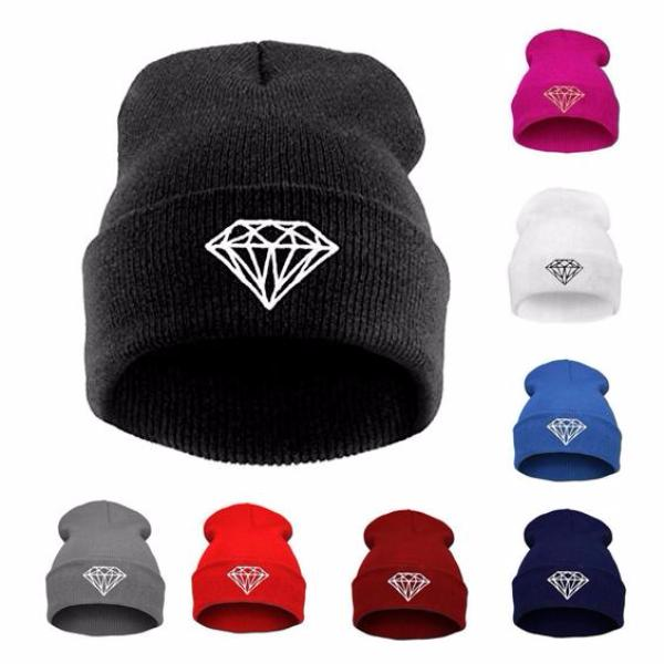Clearance Diamond Knit Hat-Rama Deals