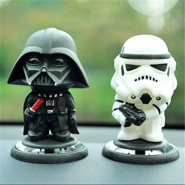 Clearance LoveFish 2PCS Car Vehicle Perfume Air Freshener Seat - WHITE AND BLACK-Rama Deals