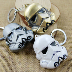 Star Wars 3D Metal Storm Trooper Mask Key Chain-Rama Deals