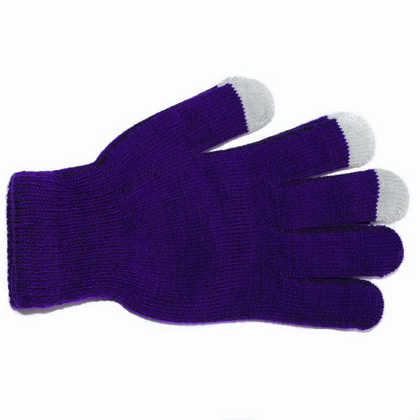 Clearance 7 Colors Women Men Cotton Knitted Touch Screen Gloves-Rama Deals