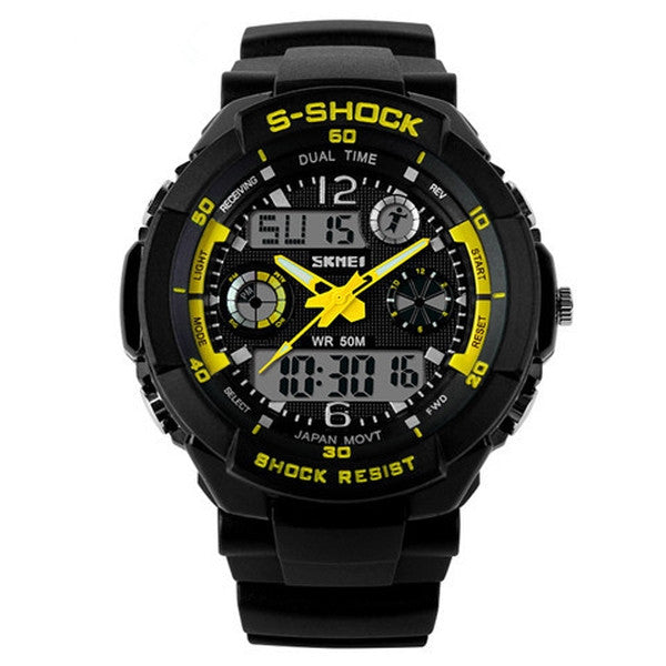 Clearance Men Military Sports Digital LED Watch-Rama Deals