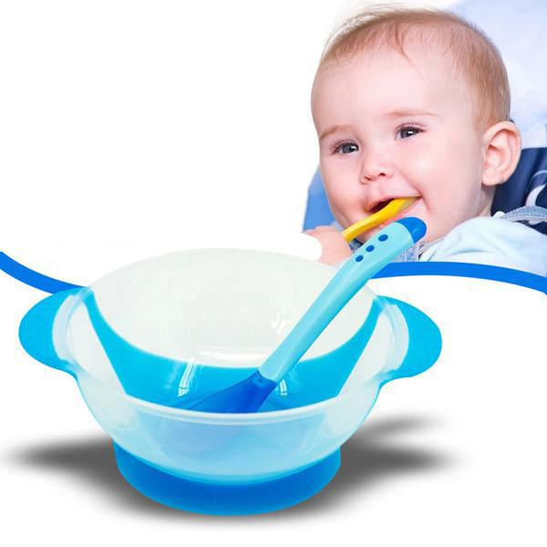 Children's Feeding Tableware With Temperature Sensing-Rama Deals
