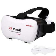 VR CASE 5th 3D Glasses+ Bluetooth Remote-Rama Deals