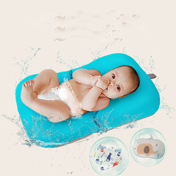 Non-slip Baby Bath Mat Foldable Bathtub Seat – Rama Deals