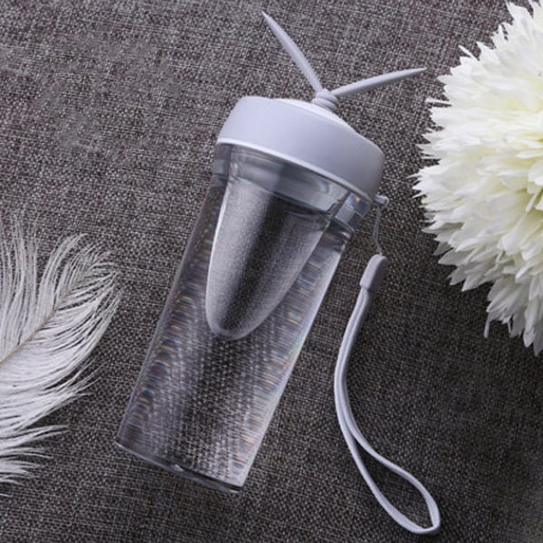 350ML Plastic Water Bottles Creative Eco-friendly with Portable Rope-Rama Deals