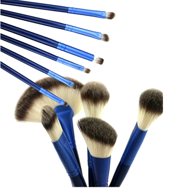 Ocean Blue 24 Piece Brush Set-Rama Deals