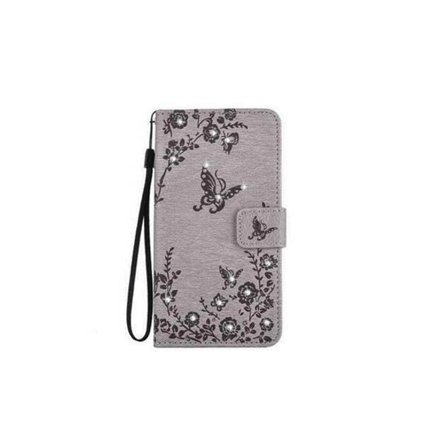Diamond Butterfies Blossom Pattern Phone Case For Samsung-Rama Deals