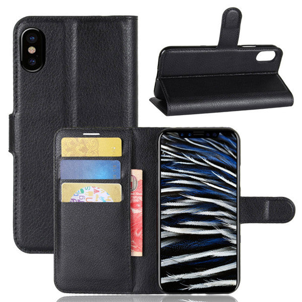 Apple iPhone 8 Case Wallet Style PU Leather Protective Cover-Rama Deals