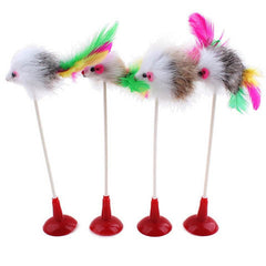 Pet Cat  Feather False Mouse Toys - Rama Deals - 1