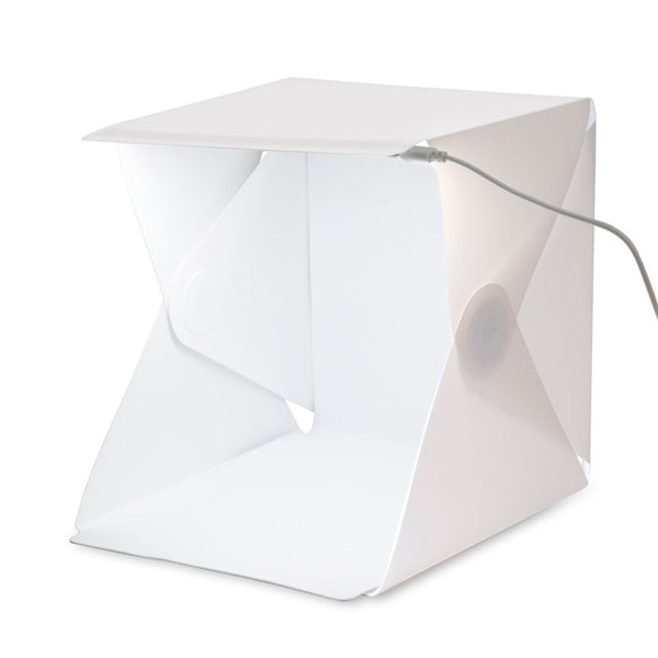 Foldable Lightbox Photography Backdrop Mini Box Lighting Tent Kit-Rama Deals